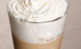 Vanilla Latte with Stevia Sweetened Cream