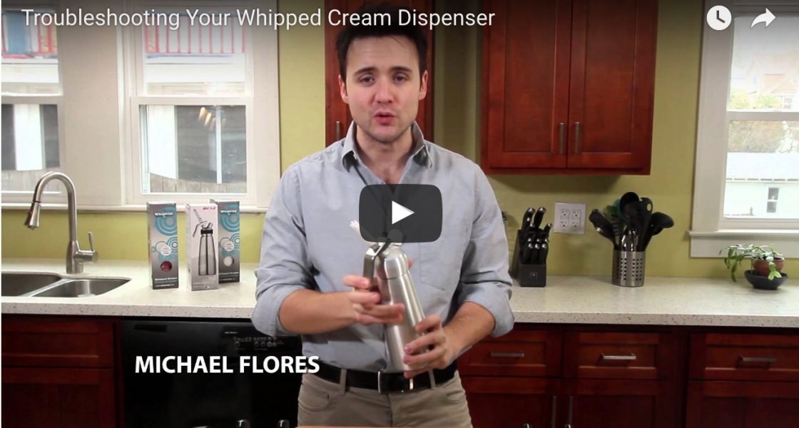 Troubleshooting Your Whipped Cream Dispenser