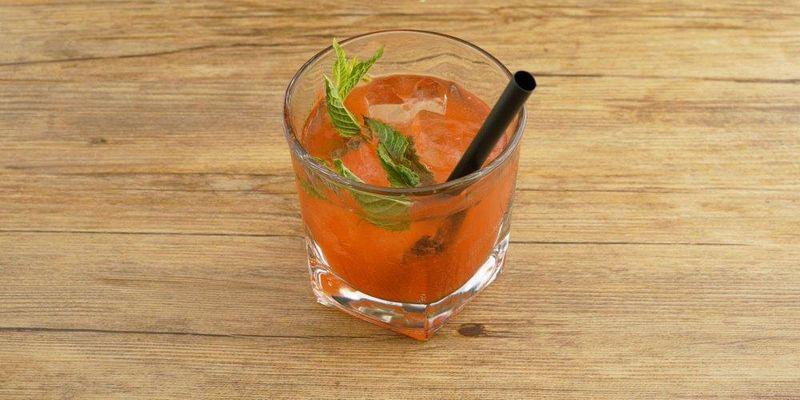 Rum-Aperol-Soda