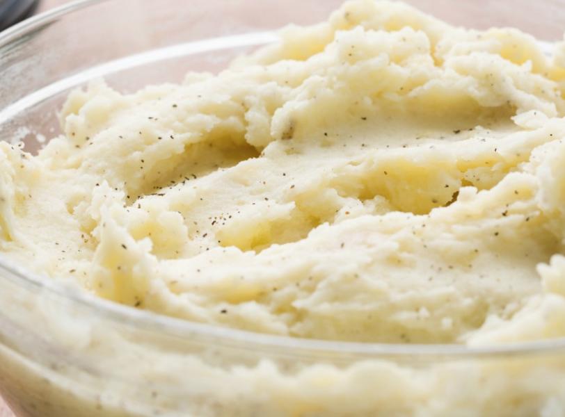 Mashed Potatoes Whipped Cream