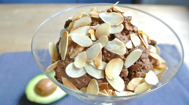 Avocado and Chocolate Mousse