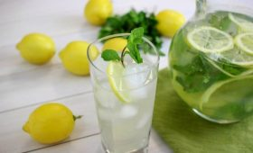 Summer Lemonade Spritzer