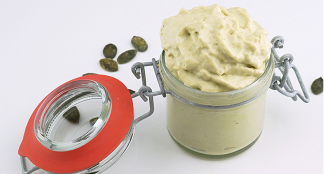 Pumpkin Seed and Goat's Cheese Dip