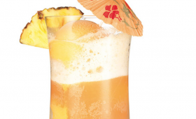 Tropical Fruit Float