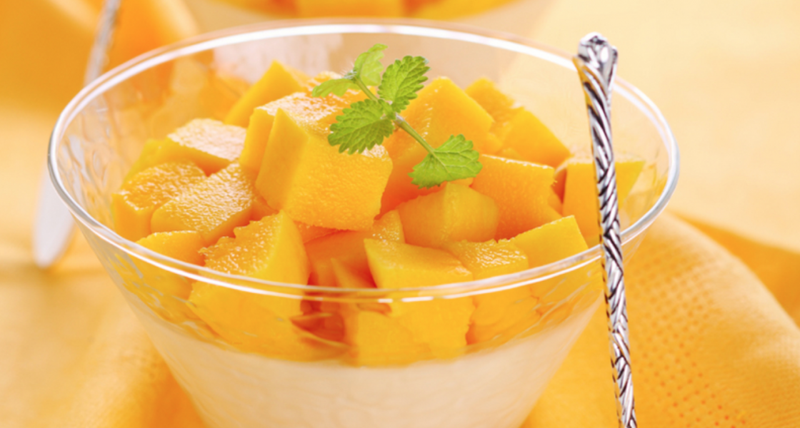 Mango and Cream Cheese Crème