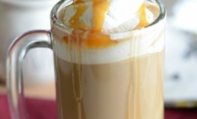 Butterbeer with Butterscotch Whipped Cream