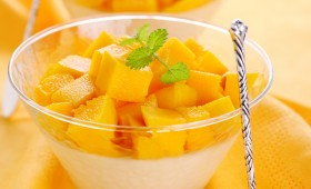 Mango and Cream Cheese Cream