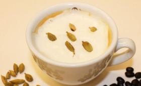 Cardamom spiced milk