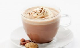 Hot Chocolate with Cream Topping