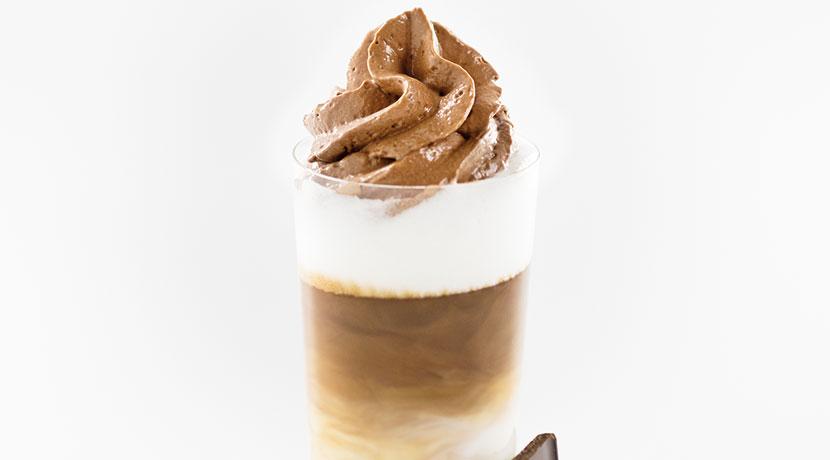 Chocolate-Hazelnut-Cream Topping