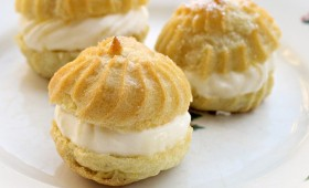Lemon Filled Cream Puffs