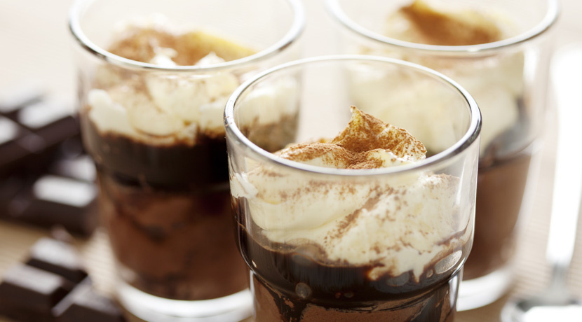 Amaretto Iced Coffee with Vanilla Ice Cream