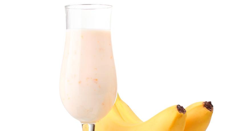 Delicious Banana Chocolate Latte