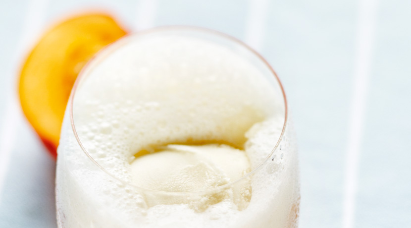 Peach Buttermilk Shake