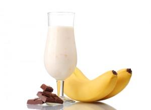 Banana Chocolate Latte
