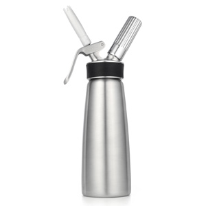 iSi 1 Quart 100% Stainless Whip Cream Dispenser-Profi