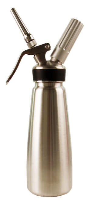 Mosa 1 Pint Stainless Steel Professional Whipped Cream Dispenser