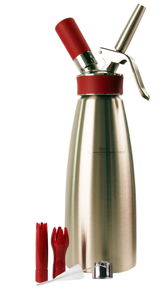 Isi Gourmet Plus Quart 100 Stainless Whip Cream Dispenser