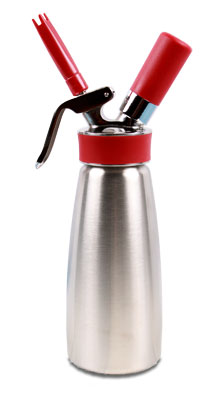 iSi Gourmet Plus Quart 100% Stainless Whip Cream Dispenser