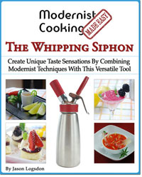 Book: Modernist Cooking: The Whipping Siphon