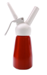 Mosa Half Pint Whip Cream Dispenser - Red