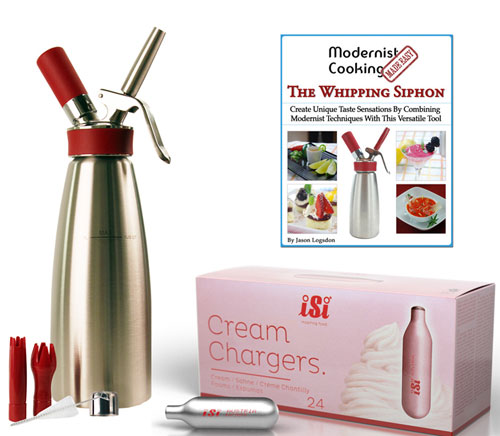 Whipped cream dispensers and whipped cream makers from for Küchen siphon