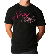 Sexxy Whip Unisex T Shirt - Black