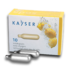 Kayser CO2 Soda Chargers - 10 Pack