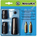 NitroKit Cartridge Piercing and Filter Device- Black